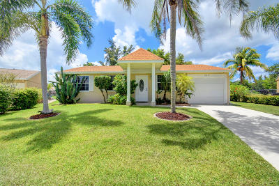 Royal Palm Beach Single Family Home For Sale: 1337 Elmbank Way