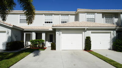 Jupiter Townhouse For Sale: 105 Wooden Mill Terrace #105