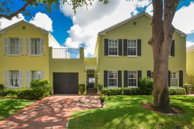 Boca Raton Townhouse For Sale: 5949 Catesby Street