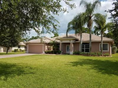 Port Saint Lucie Single Family Home For Sale: 364 SW Egret Landing(S)