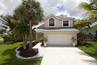 Lake Worth Single Family Home For Sale: 7394 Trescott Drive