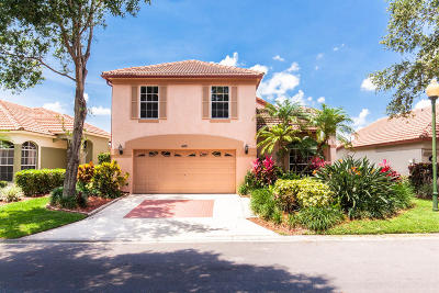 Palm Beach Gardens FL Single Family Home For Sale: $339,000
