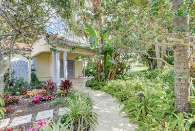 Wellington Single Family Home For Sale: 2449 Vista Del Prado Drive