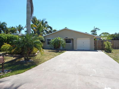Delray Beach Single Family Home For Sale: 5096 Washington Road
