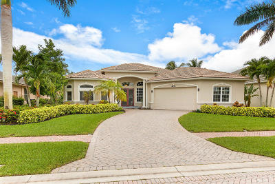 Boynton Beach Single Family Home For Sale: 6672 Conch Court