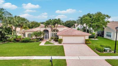 Boynton Beach Single Family Home For Sale: 11319 Barca Boulevard