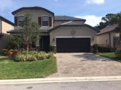 Lake Worth Single Family Home For Sale: 5715 Sandbirch Way