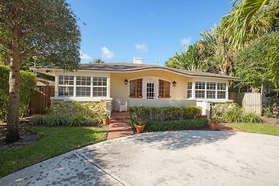 West Palm Beach Single Family Home For Sale: 302 Wildermere Road