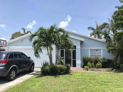 Jupiter Single Family Home For Sale: 6045 Barbara Street