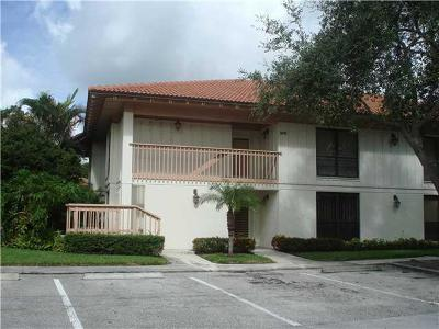 Palm Beach Gardens Rental For Rent: 475 Brackenwood Lane #475