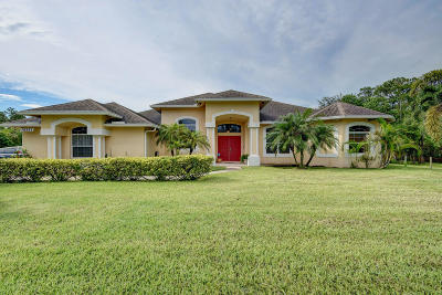 Loxahatchee Single Family Home For Sale: 16261 Valencia Boulevard