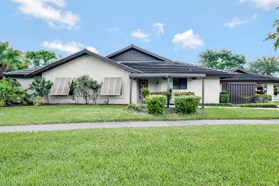 Boynton Beach Single Family Home For Sale: 10149 Chestwood Road