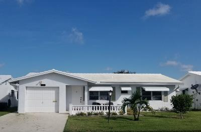 Leisureville Single Family Home For Sale: 1725 SW 18th Street