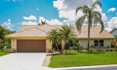 Lake Worth Single Family Home For Sale: 6733 Brookhurst Circle