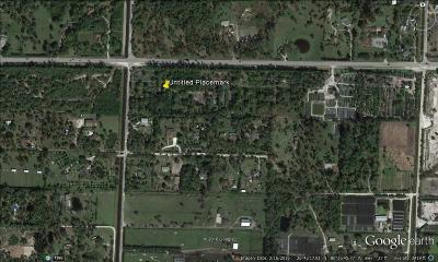 Palm Beach County Residential Lots & Land For Sale: 14920 Okeechobee Boulevard