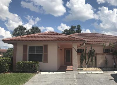 Boca Raton Single Family Home Contingent: 9859 Three Lakes Circle