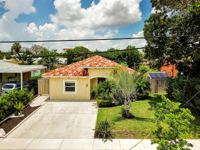 West Palm Beach Single Family Home For Sale: 4311 Garden Avenue