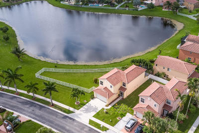 Lake Worth, Lakeworth Single Family Home For Sale: 8060 Pelican Harbour Drive