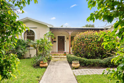 West Palm Beach Single Family Home For Sale: 310 29th Street