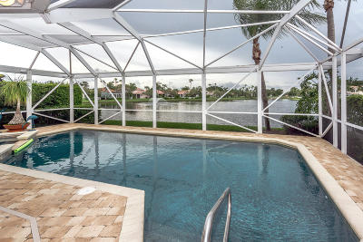 Palm Beach Gardens Single Family Home For Sale: 210 Eagleton Lake Boulevard