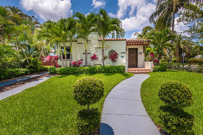 West Palm Beach Single Family Home For Sale: 501 36th Street