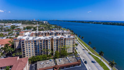 West Palm Beach Condo For Sale: 1801 Flagler Drive #502 & 50