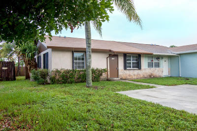 Palm Beach Gardens Single Family Home For Sale: 4784 Arthur Street