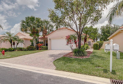 Boynton Beach Single Family Home For Sale: 11936 Rosetree Terrace