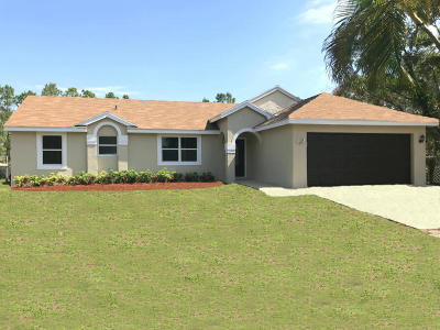 Loxahatchee Single Family Home For Sale: 17315 76th Street