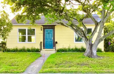 West Palm Beach Single Family Home For Sale: 5308 Parker Avenue
