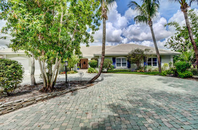 Boynton Beach Single Family Home For Sale: 4927 King Palm Circle