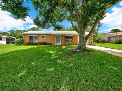 Port Saint Lucie Single Family Home Contingent: 1719 SE Lullaby Terrace