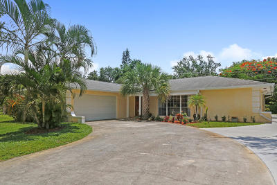 Jupiter Single Family Home Contingent: 19462 Gulfstream Drive