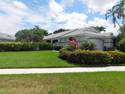 Delray Beach Single Family Home For Sale: 7872 Dundee Lane