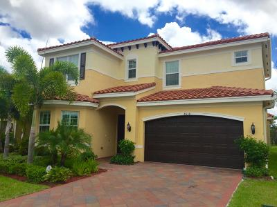 Boynton Beach Rental For Rent: 8218 Fiera Ridge Drive