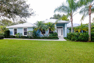 Stuart Single Family Home For Sale: 5328 SE Reef Way