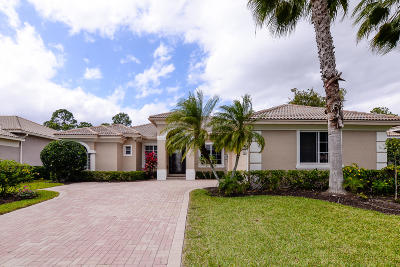 Port Saint Lucie Single Family Home For Sale: 8033 Links Way