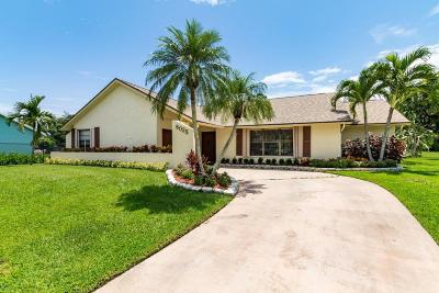 Lake Worth Single Family Home For Sale: 8025 Marshwood Lane