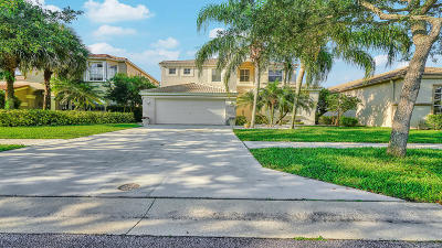 Lake Worth Single Family Home For Sale: 7258 Copperfield Circle