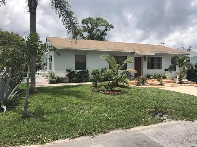West Palm Beach Single Family Home For Sale: 6617 Lytle Court