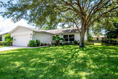 Jupiter Single Family Home For Sale: 114 Village Circle
