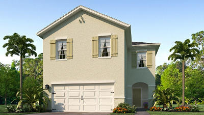 West Palm Beach Single Family Home For Sale: 6018 Wildfire Way