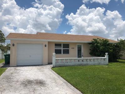Tamarac Single Family Home For Sale: 8106 NW 93rd Ter Terrace