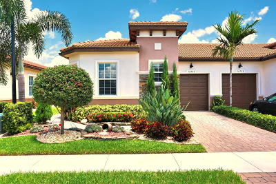 Delray Beach Single Family Home Contingent: 14739 Barletta Way