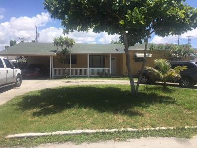 Lantana Single Family Home For Sale: 807 Minnesota Street