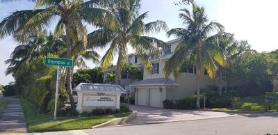 Juno Beach Townhouse For Sale: 481 Olympus Drive #201
