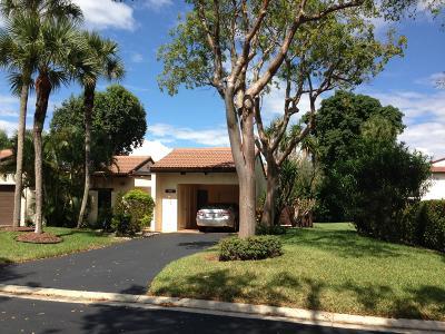 Boca Raton Single Family Home For Sale: 21744 Cypress Drive #18-B