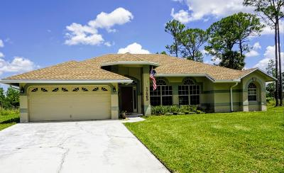 Loxahatchee Single Family Home Contingent: 17563 68th Street