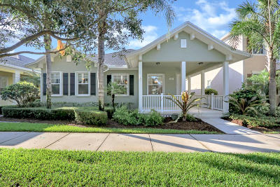 Jupiter Single Family Home For Sale: 2681 E Community Drive