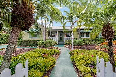 Lake Worth Single Family Home For Sale: 1126 Lakeside Drive